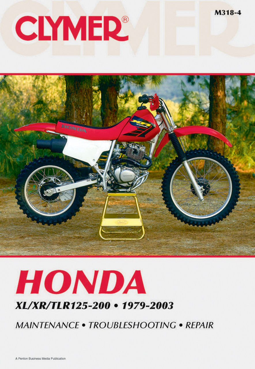 Honda XL/XR/TLR125-200 1979-2003 Workshop Manual