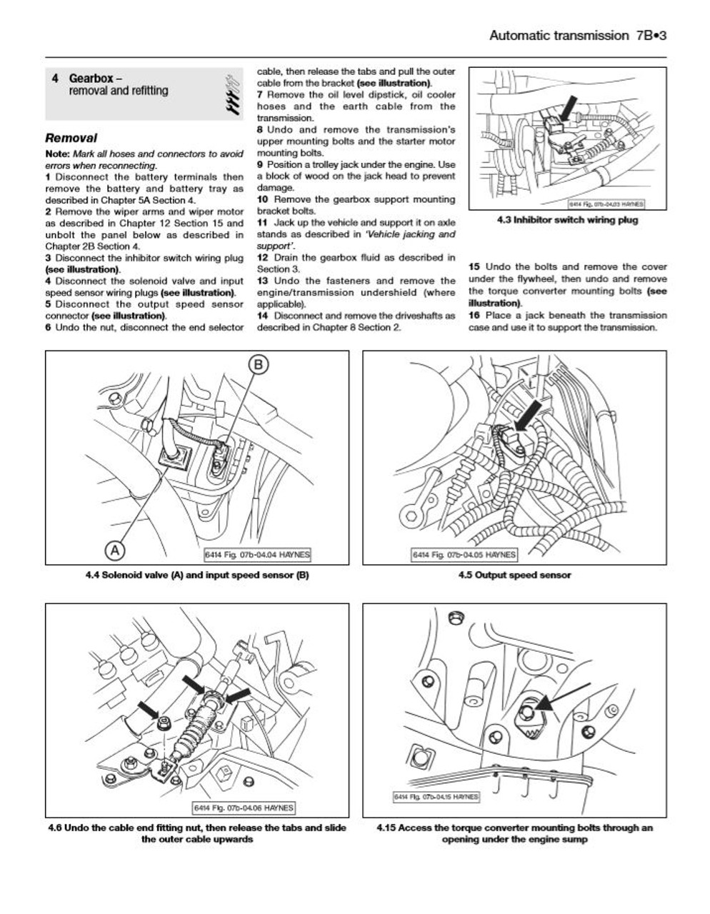 Car Manuals & Literature Service & Repair Manuals 58 to 63 Petrol ...