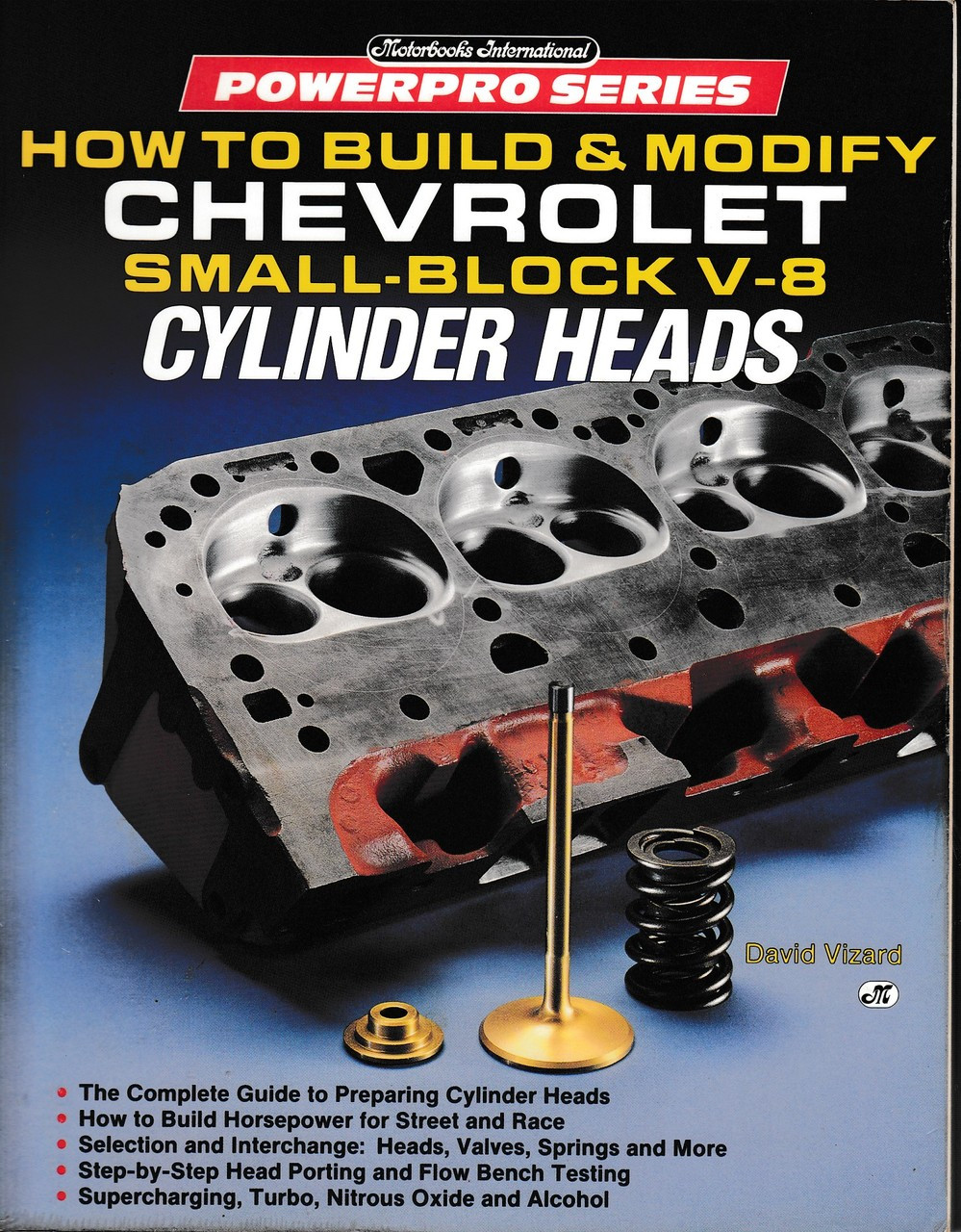 David Vizard/'s How to Port /& Flow Test Cylinder Heads 160 Pages Paperback