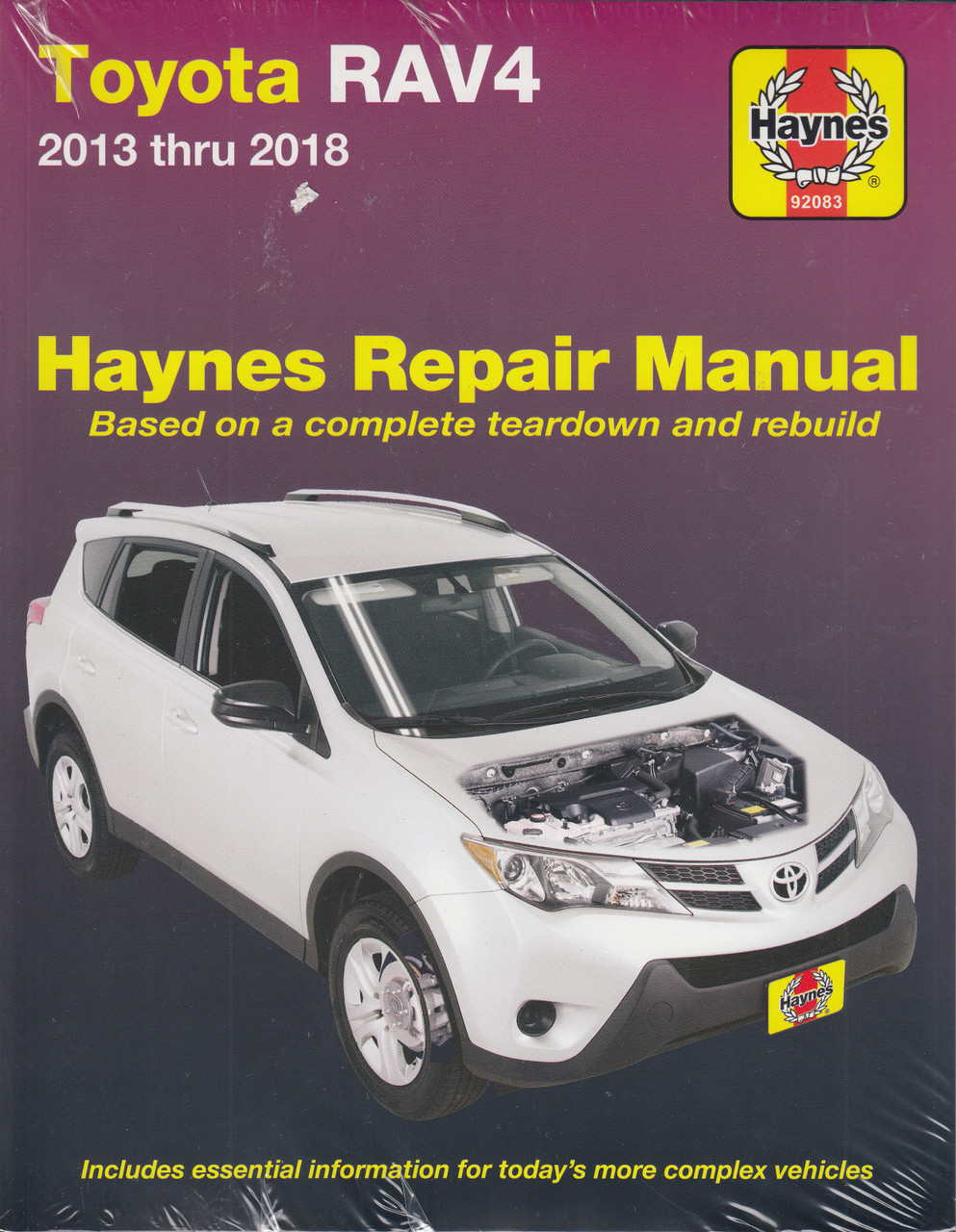 Service & Repair Manuals Haynes Workshop Manual Toyota RAV4 1994 ...