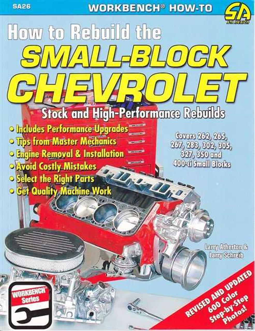 Rebuilt Chevy 350 Short Block