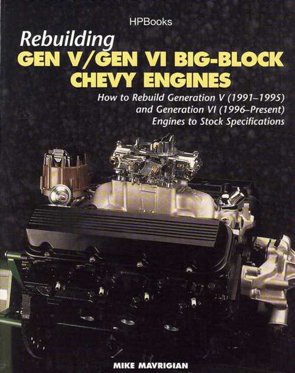 how to rebuild big block chevy engines