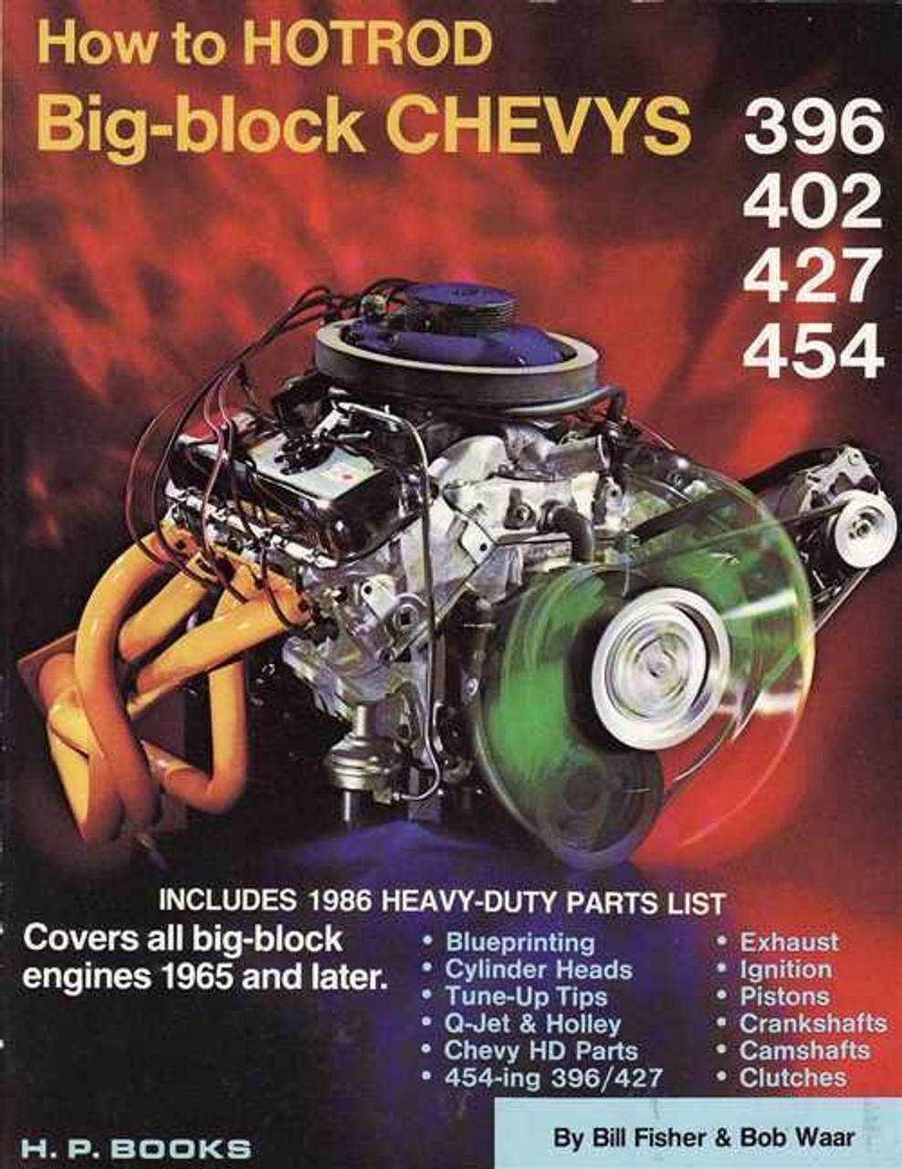 How to Hotrod Big-block Chevys 396, 402, 427, 454