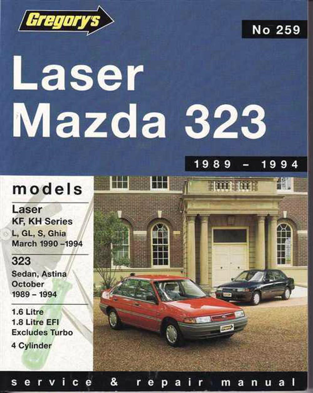 Ford Laser Amp Mazda 323 1989 1994 Workshop Manual