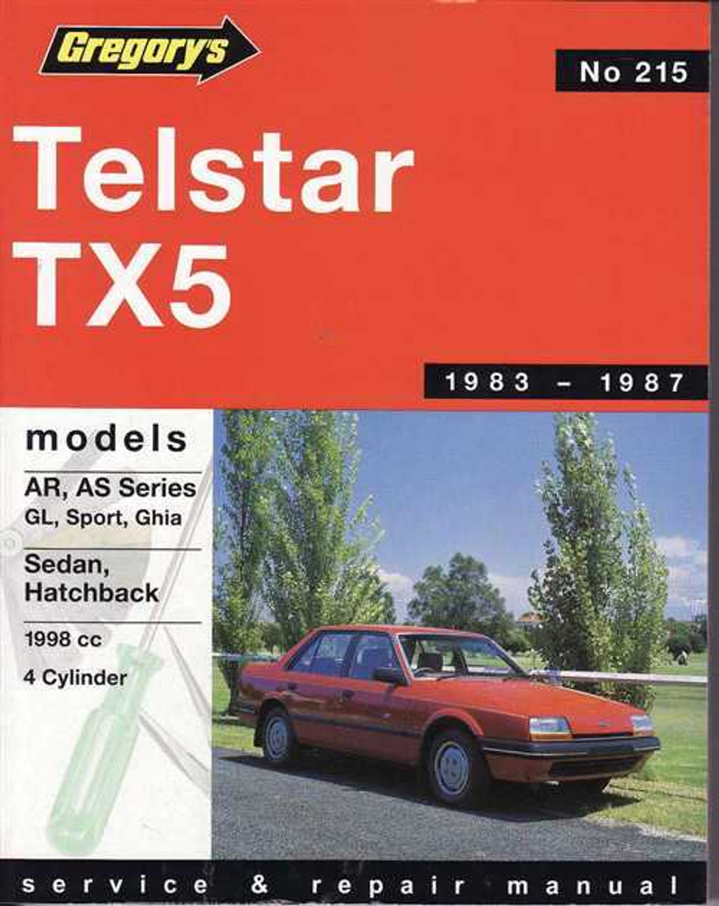 Ford Telstar Tx5 1983