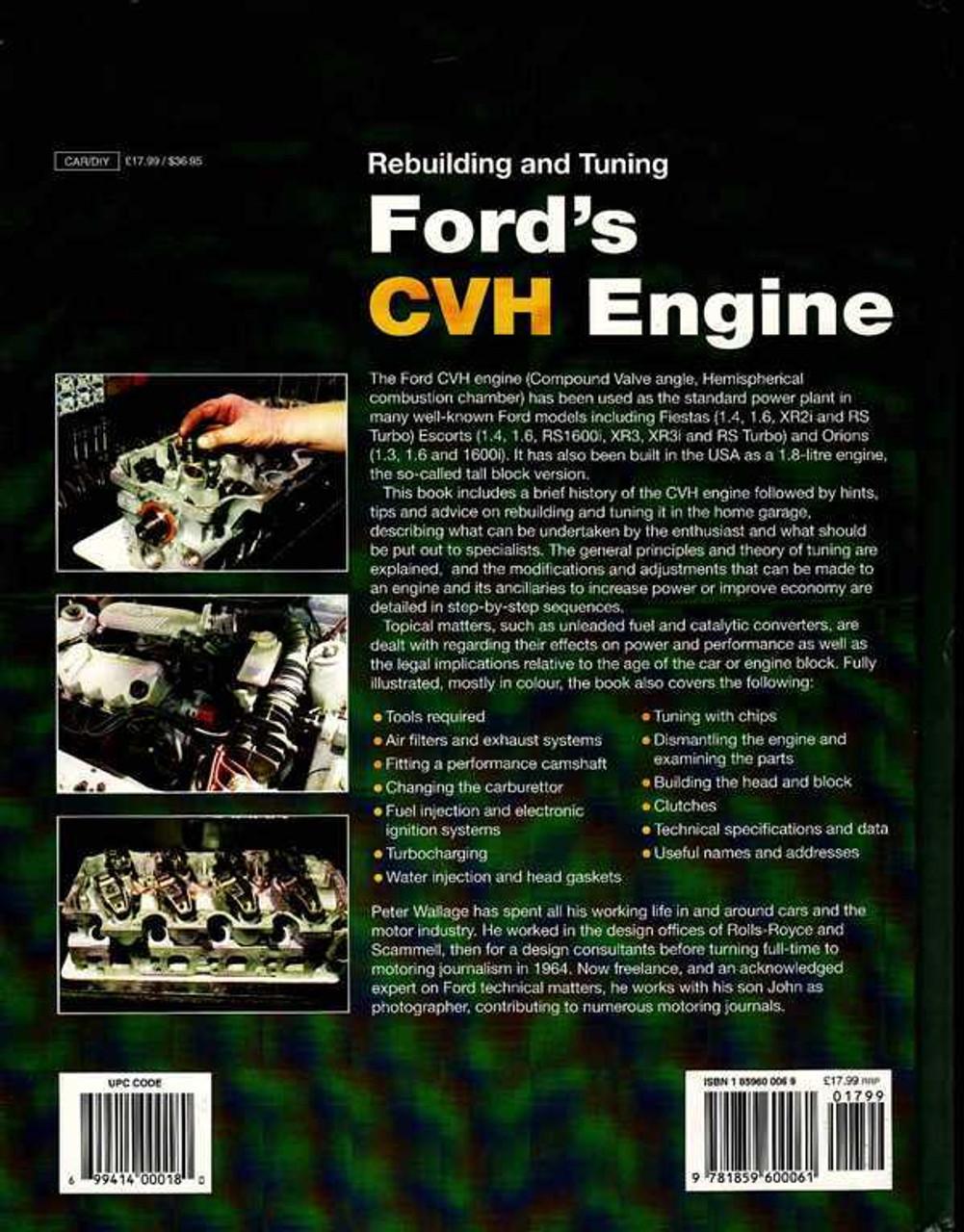cvh engine number location