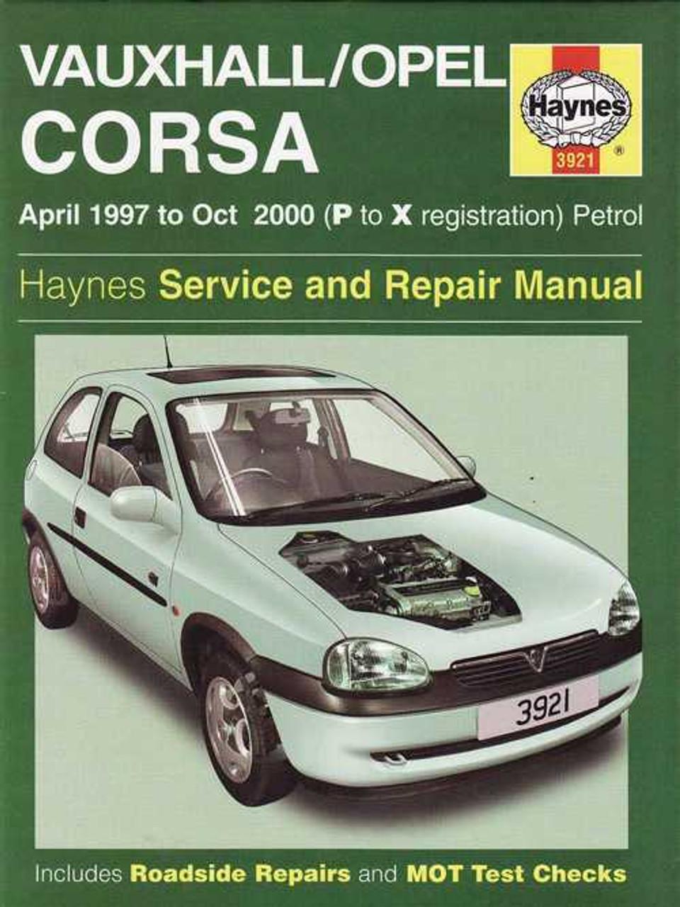 vauxhall astra full service repair manual 1998 2000
