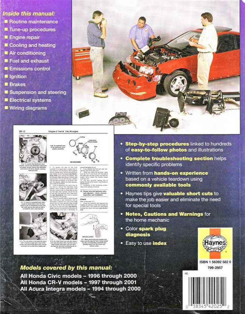 https://www automotobookshop com au/honda-civic-and-cr-v-honda-acura-integra-1994-2001-workshop-manual/
