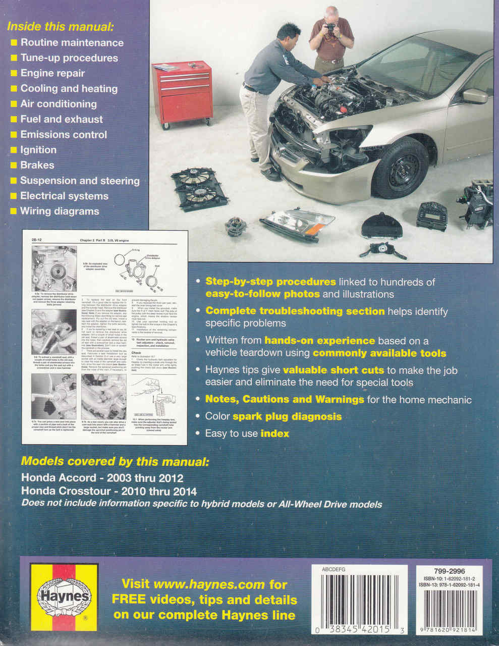 591 Honda Accord Crosstour 2003 2012 Workshop Manual Wiring Library