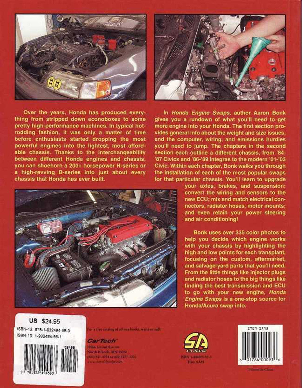 Honda Engine Swaps (Reprint)