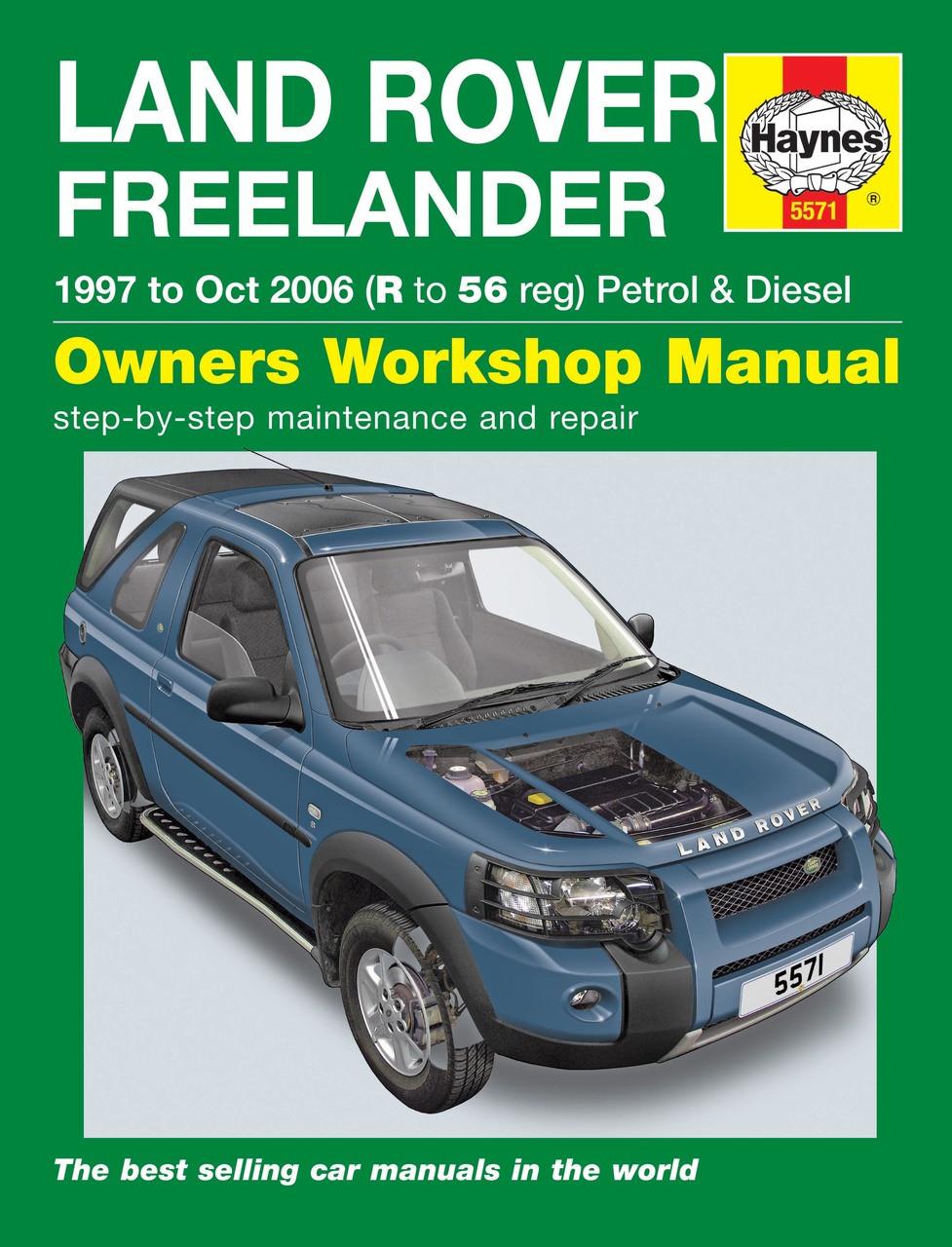 repair manual freelander 2