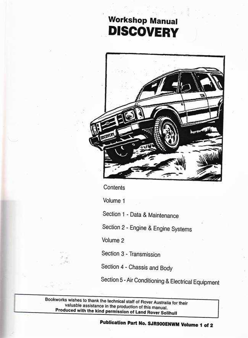land rover discovery 2 parts catalogue