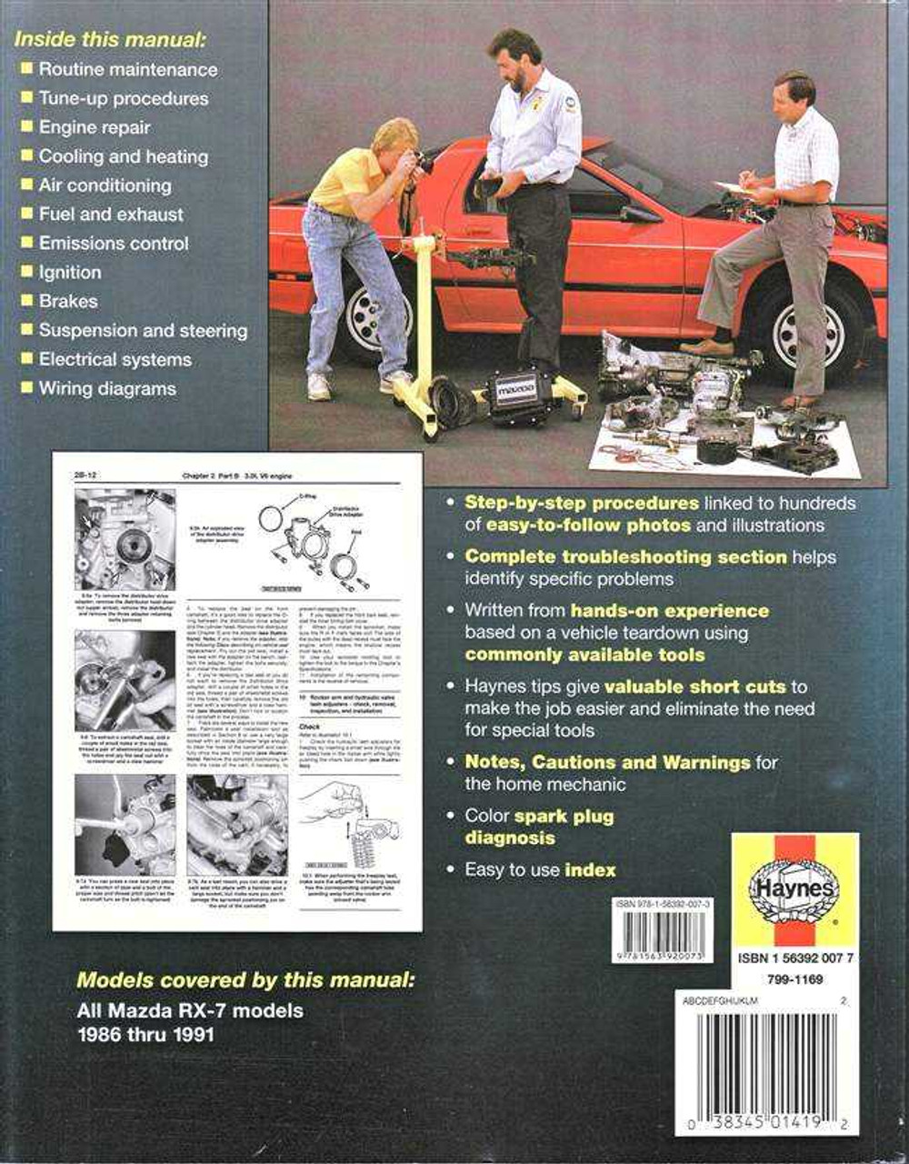 Awe Inspiring Mazda Rx 7 1986 1991 Workshop Manual Wiring 101 Orsalhahutechinfo