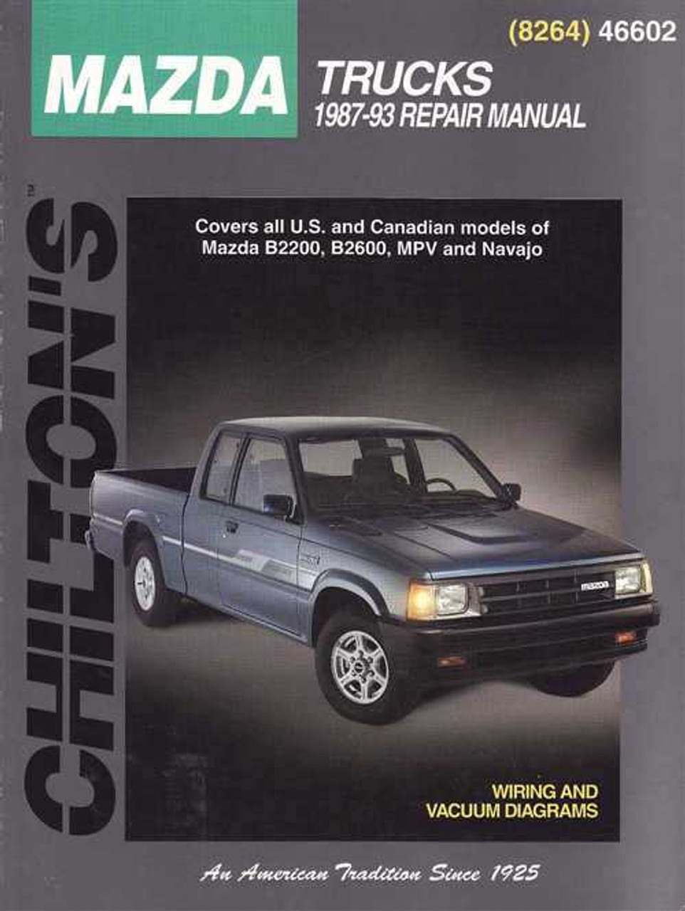 Mazda Trucks 1987 1993 Workshop Manualrhautomotobookshopau: 1987 Mazda Pick Up Wiring Diagram At Gmaili.net