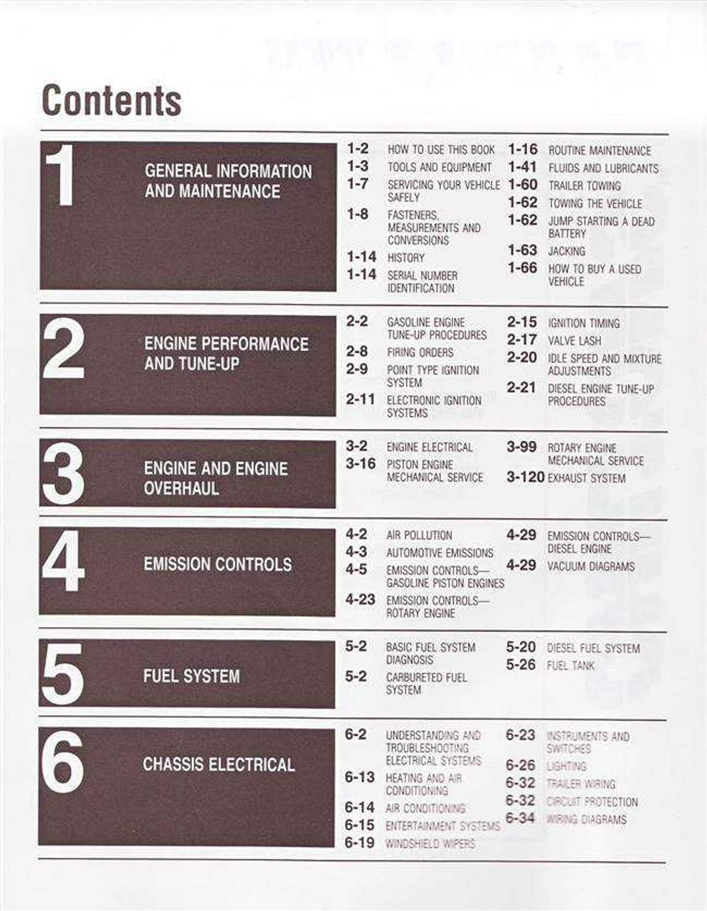 Mazda Trucks 1972 - 1986 Workshop Manual