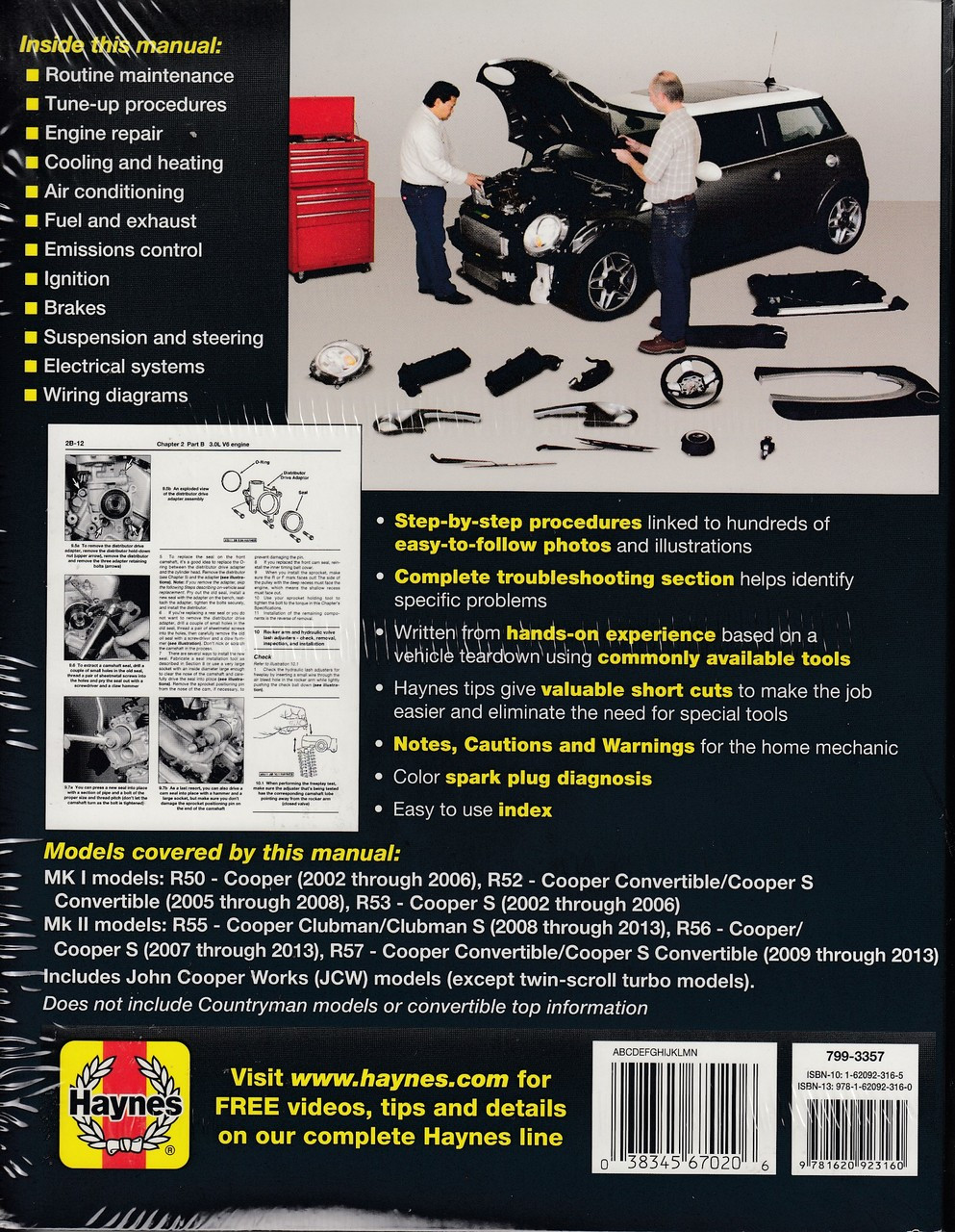 mini cooper r56 haynes manual