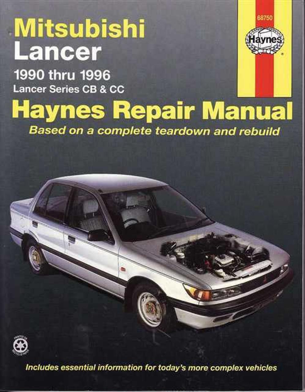 2002 mitsubishi lancer repair manual