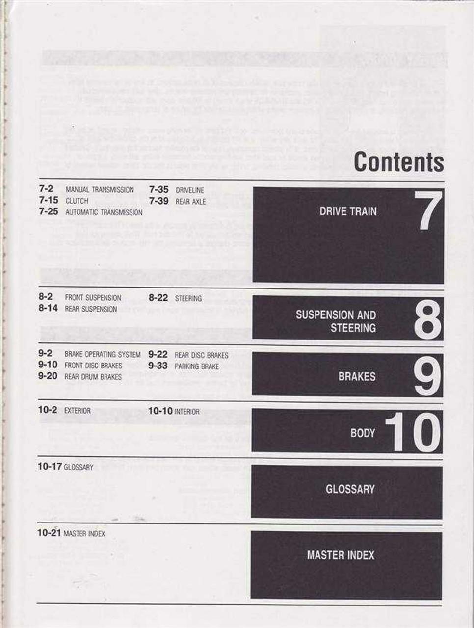 Nissan Datsun 200SX / 510 / 610 / 710 /810 / Maxima 1973 - 1984 Workshop  Manual