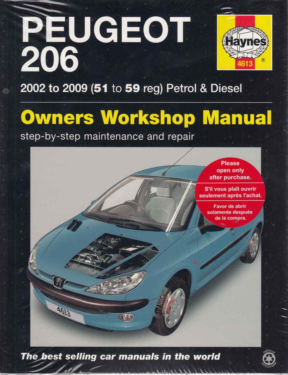 peugeot 205 1998 repair service manual