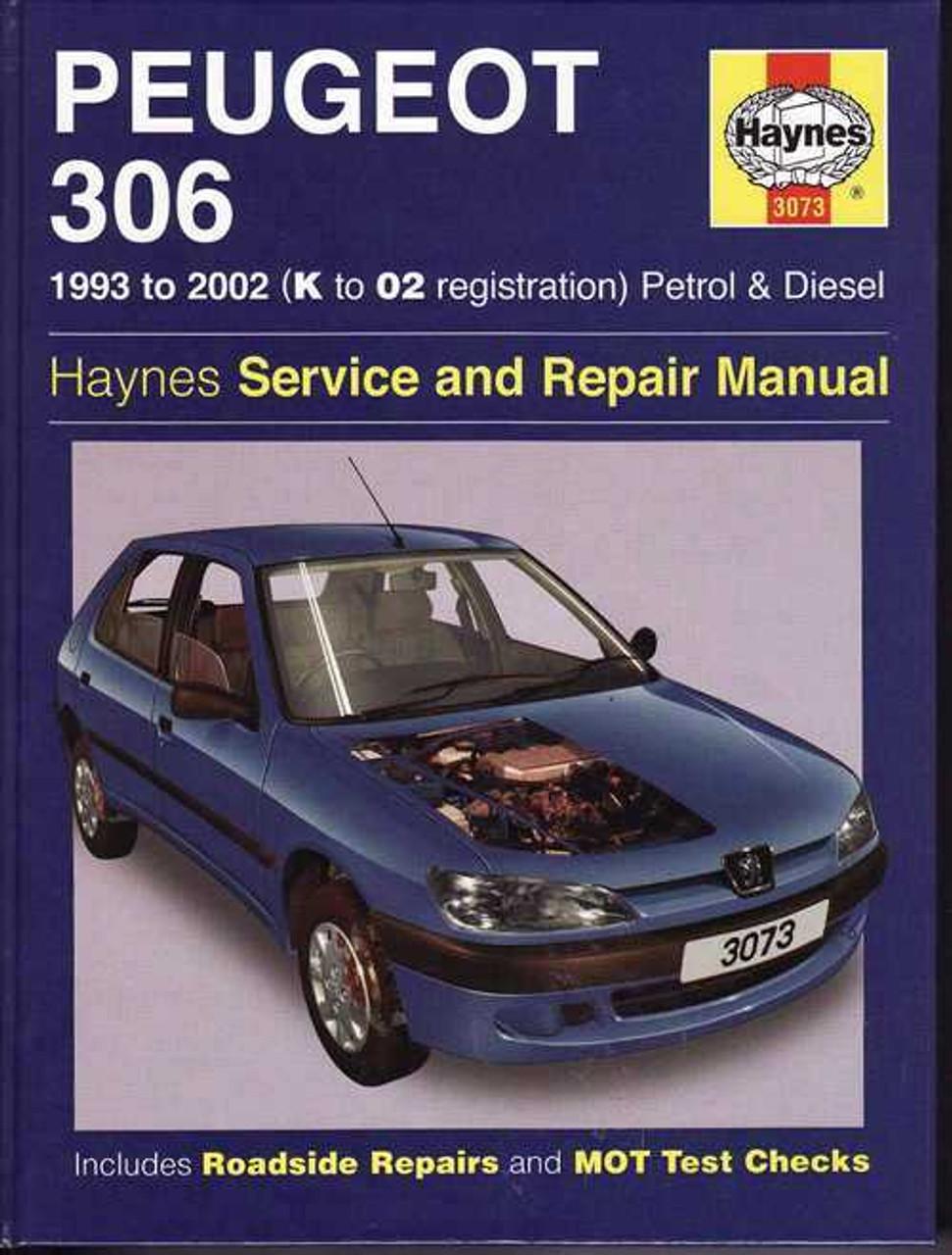 Peugeot 306 1993 2002 Workshop Manual