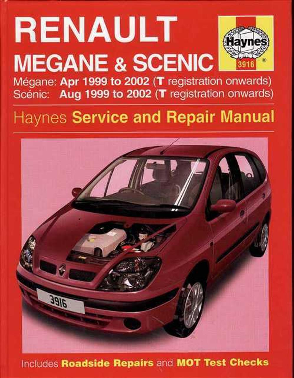 renault scenic 2001 repair service manual