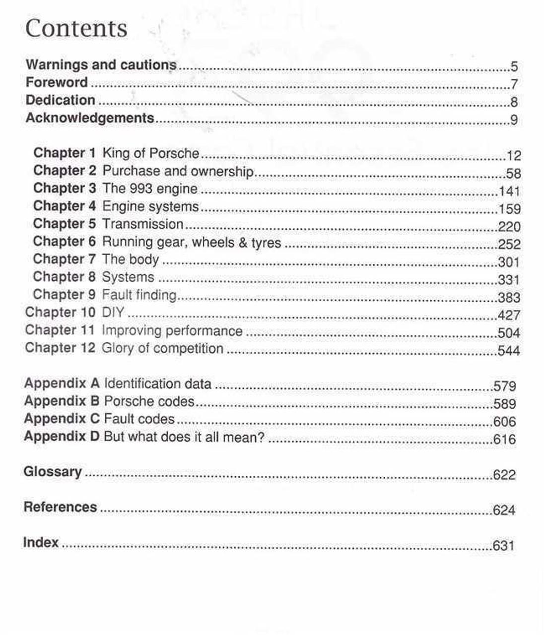 Porsche Engine Codes
