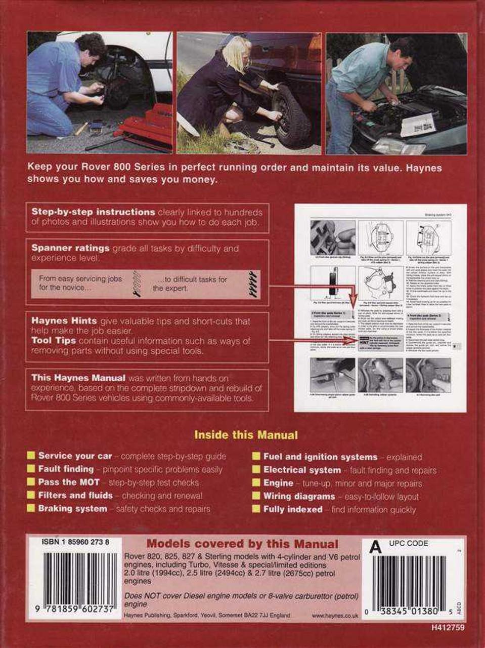 https://www automotobookshop com au/rover-820-825-and-827-1986-1995-workshop-manual/
