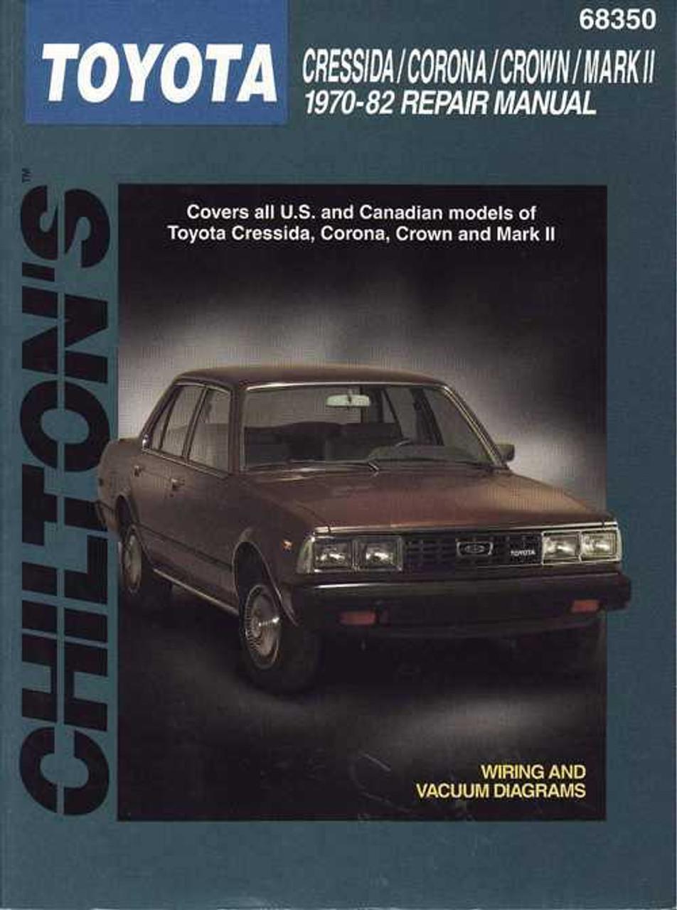 Toyota Cressida Corona Crown Mark 2 1970 1982 Workshop Manual