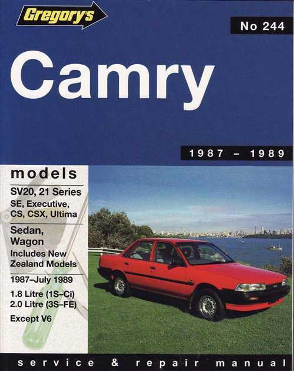 manual camry wagon