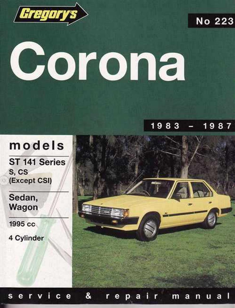 manuales de toyota corona 85