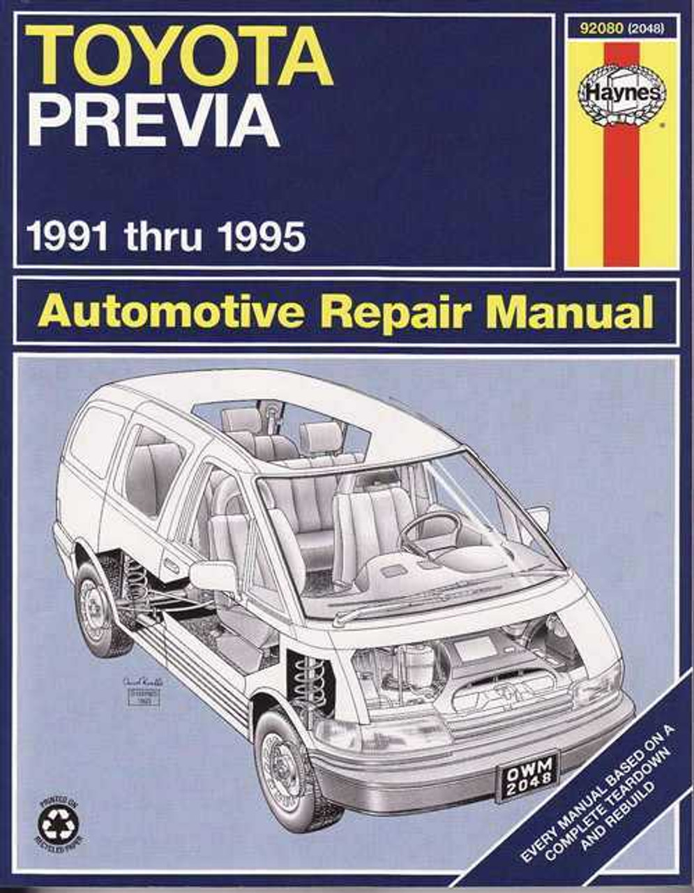 B1228 Toyota Previa Workshop Manual 334971339460243c2imbypasson