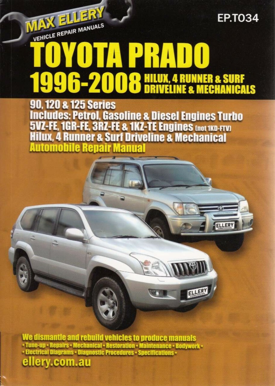 toyota service manual 4runner