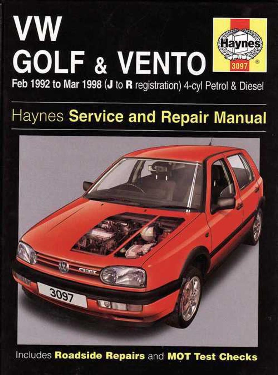 vw citi golf repair manual