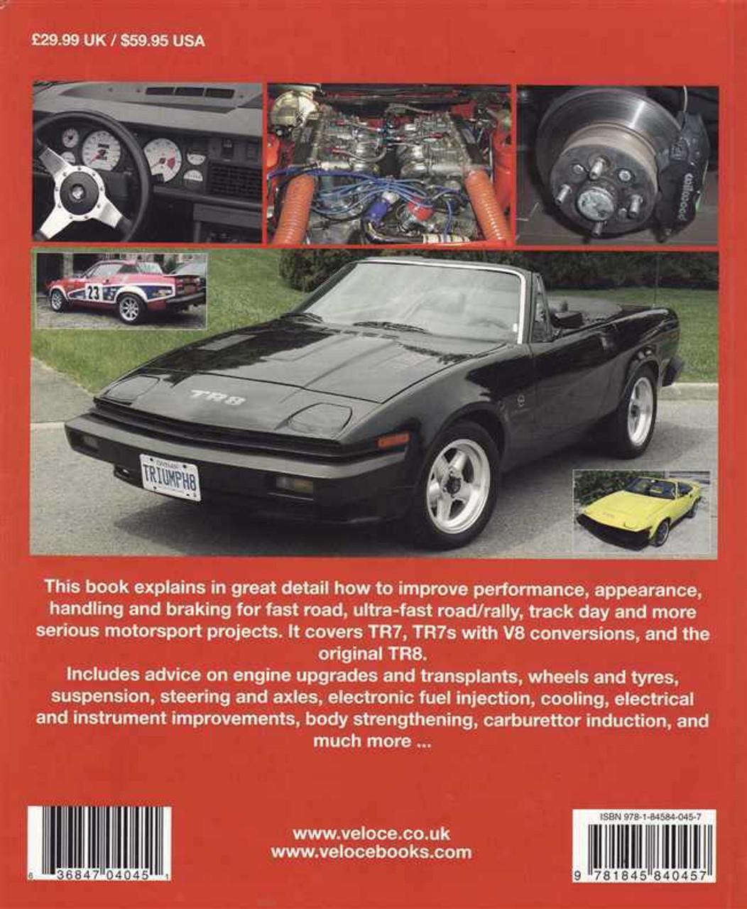 How To Improve Triumph Tr7 Tr7 V8 Amp Tr8