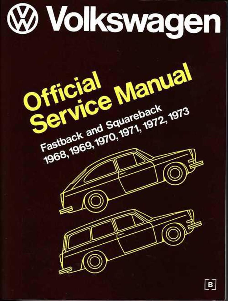 vw type 4 manual