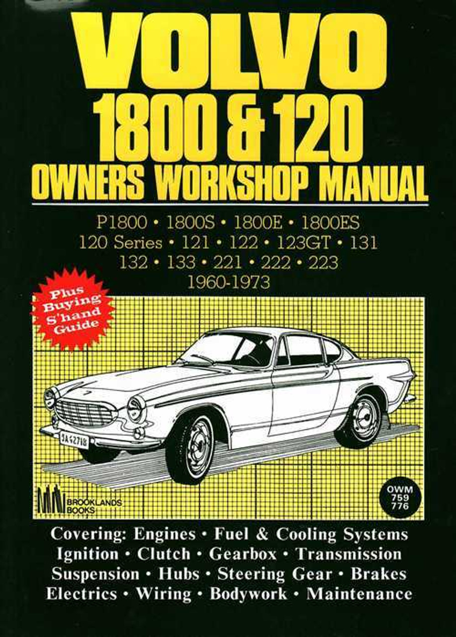 https://www automotobookshop com au/volvo-1800-and-120-1960-1973-workshop-manual-covers/