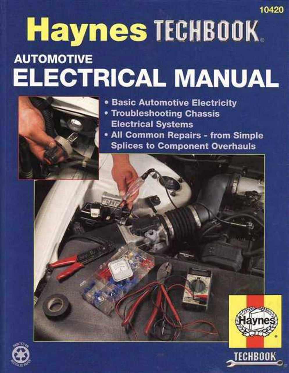 Pleasant Automotive Electrical Manual Haynes Techbook Wiring Cloud Tobiqorsaluggs Outletorg