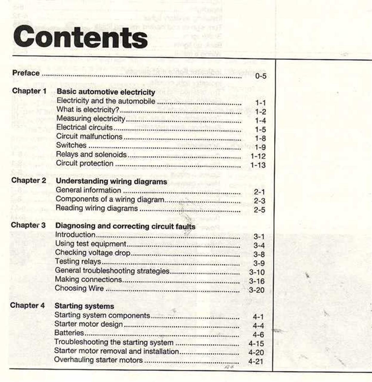 Automotive Electrical Manual Haynes Techbook