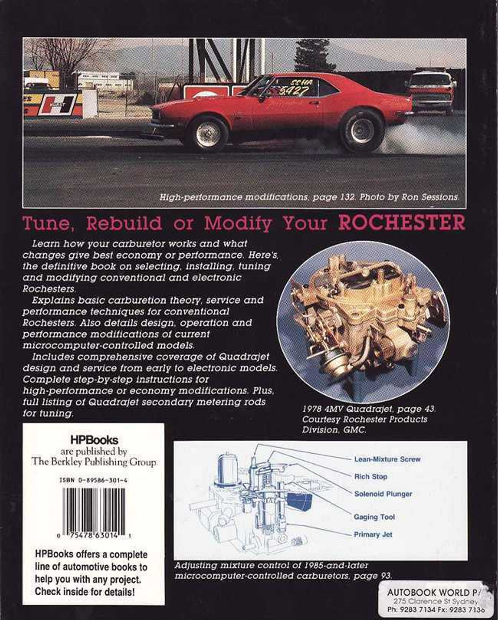 Rochester Carburetors