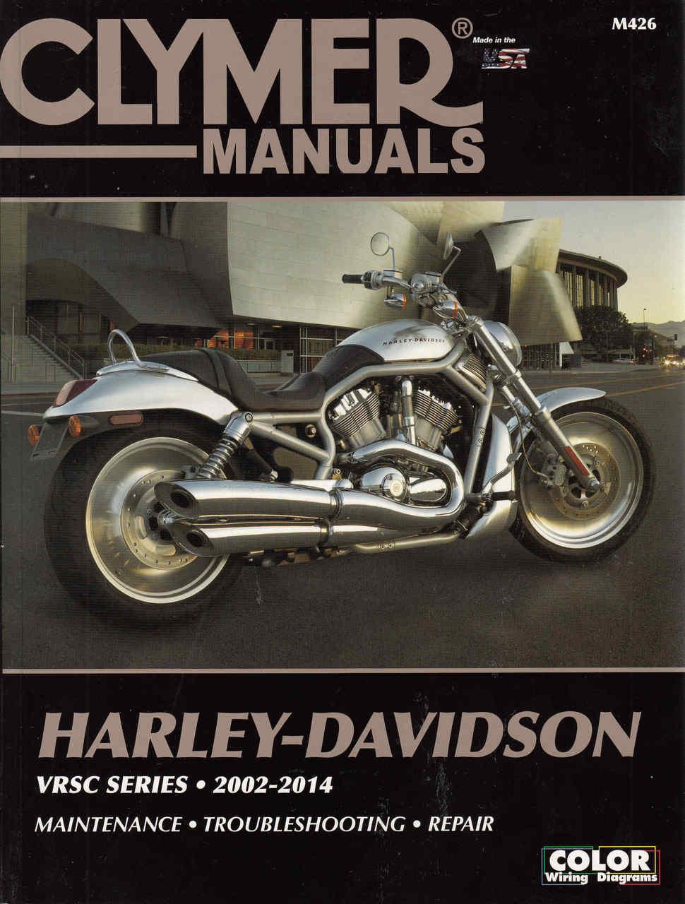 Harley-Davidson VRSC Series 2002 - 2014 Workshop Manual on