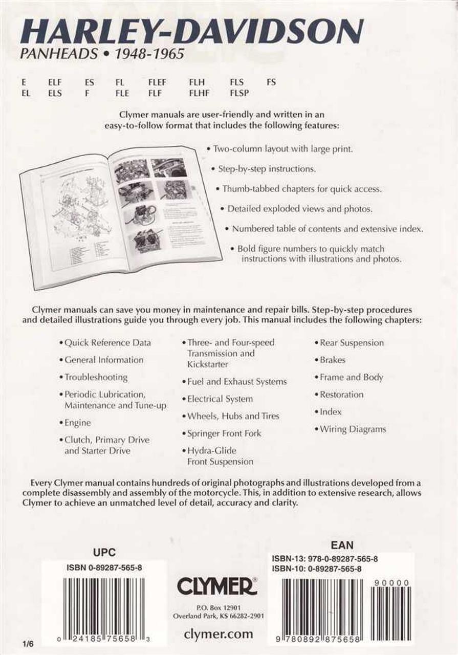 clymer service manual harley davidson