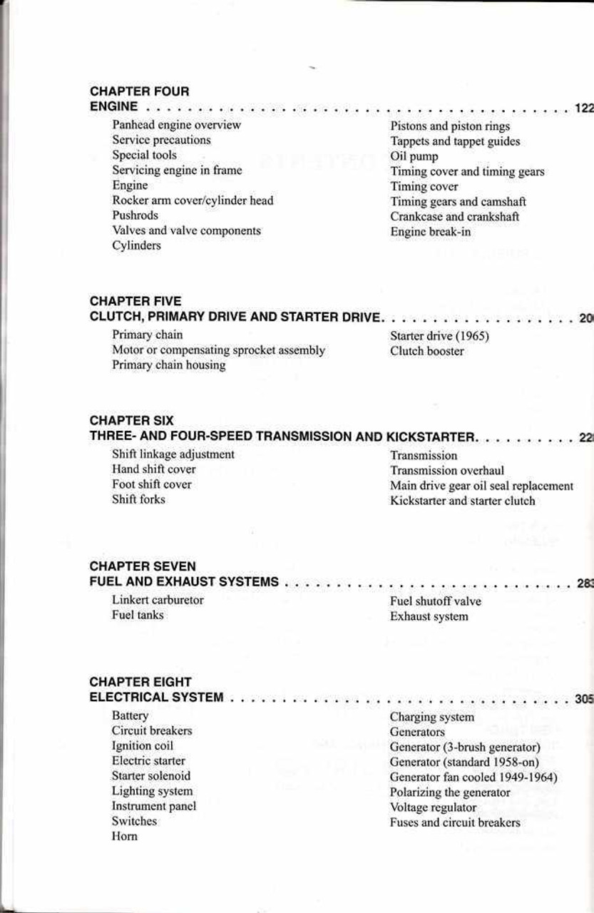1964 Panhead Wiring Diagram. . Wiring Diagram on