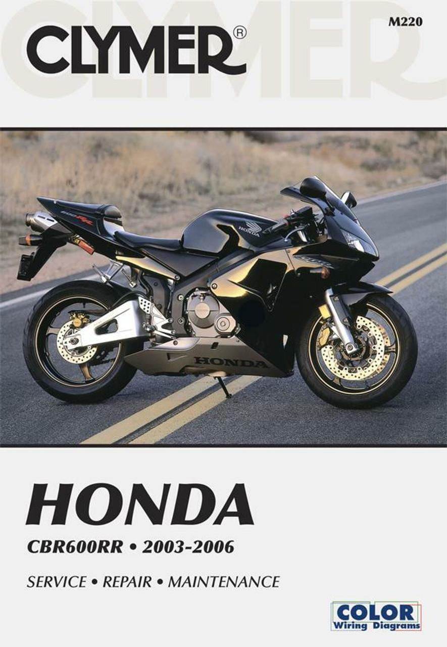 Honda Cbr600rr Motorcycle 2003 2006 Service Repair Manual