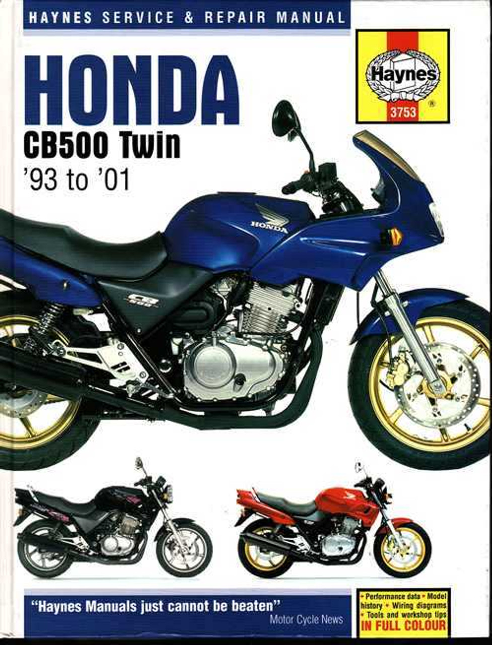 Super Honda Cb500 Twin 1993 2001 Workshop Manual Wiring 101 Breceaxxcnl