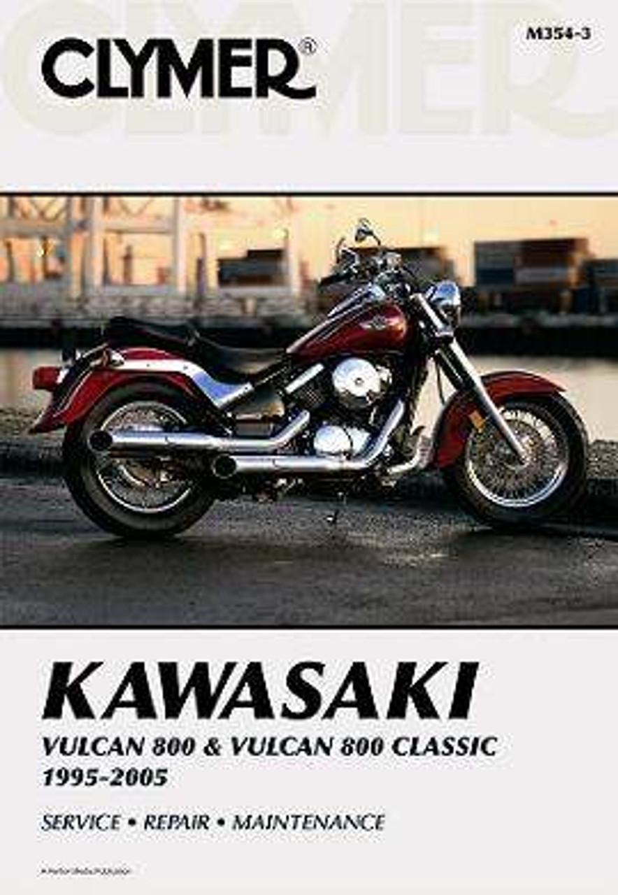 Kawasaki Vulcan 800 Vulcan 800 Classic Motorcycle 1995 2005 Service Repair Manual