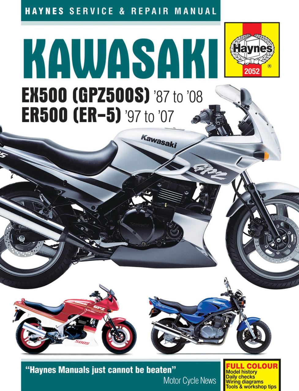 Kawasaki Ninja 500r Wiring Diagram   Wiring Schematic ... on