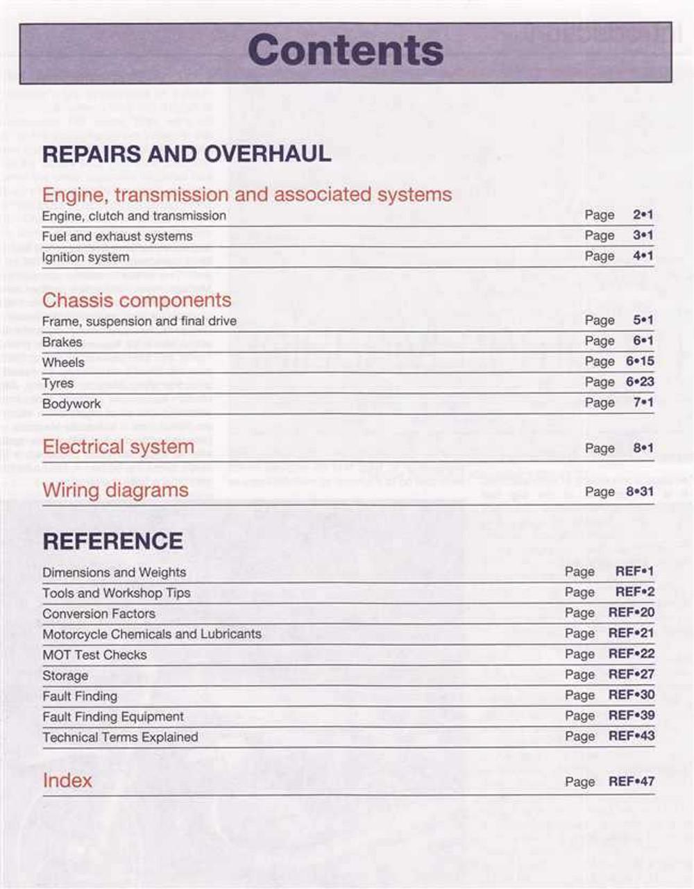 Kawasaki ZR550 and ZR750 Zephyr Fours 1990 - 1997 Workshop Manual