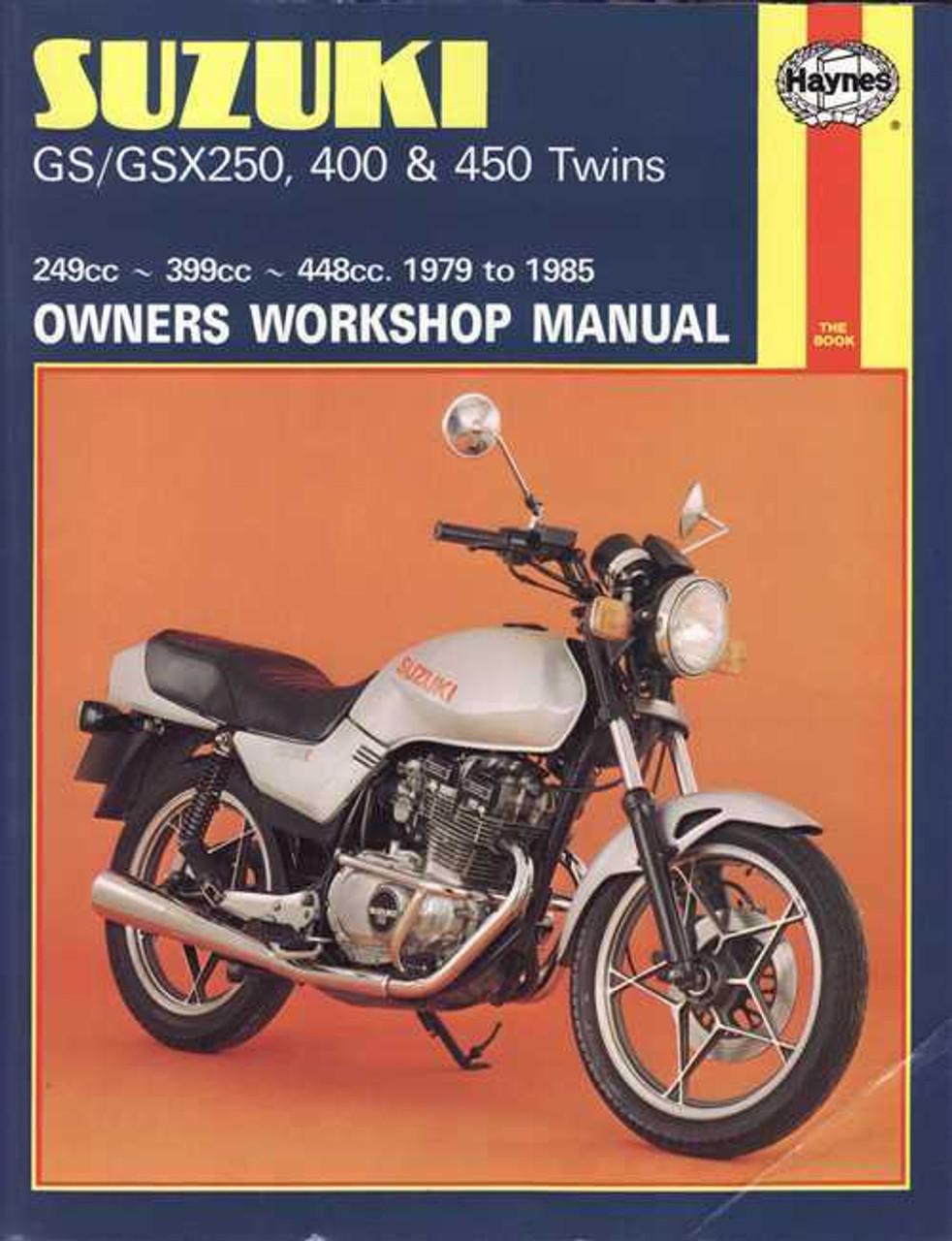 suzuki gs gsx250, 400 \u0026amp; 450 twins 1979 1985 workshop manualSuzuki Gsx250 1982 Z Electrical Schematic Partsfiche #11