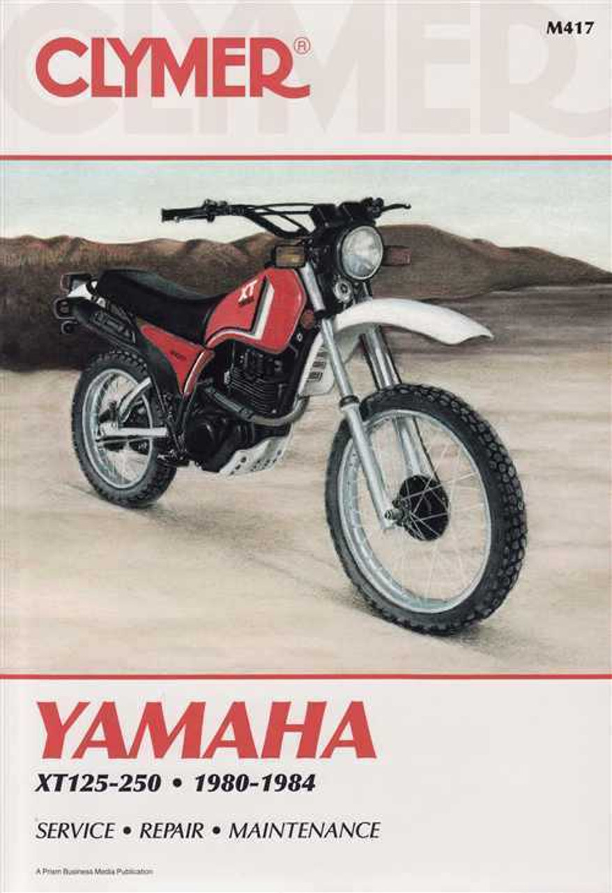82 Yamaha Xt 200 Wiring Diagram | Repair Manual on