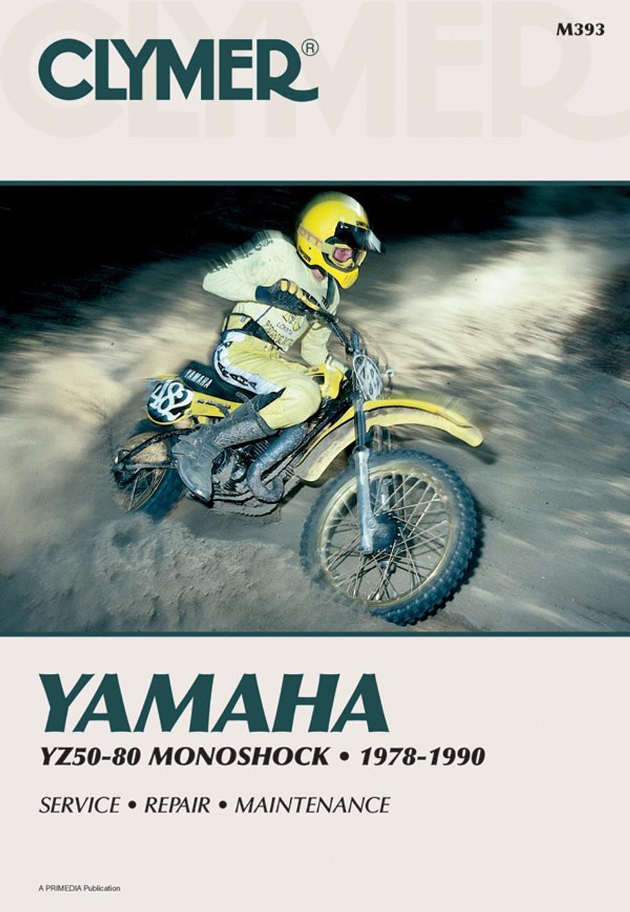 Yamaha Yz50 80 Monoshock Motorcycle 1978 1990 Service Repair Manual